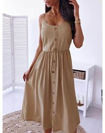 Dresses - kod 5057 - cappuccino