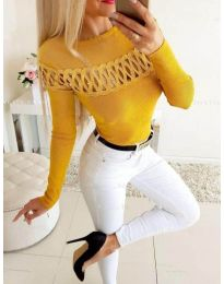 Blouses - kod 3511 - mustard