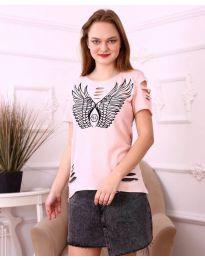 T-shirts - kod 3567 - pink