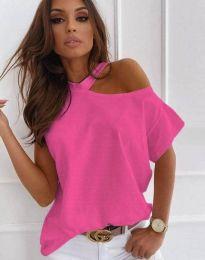 T-shirts - kod 0599 - 4 - pink