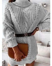 Dresses - kod 6071 - gray