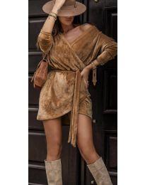 Dresses - kod 238 - brown