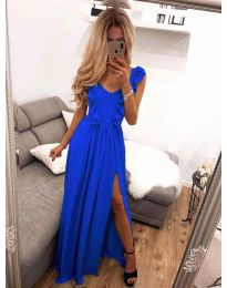 Dresses - kod 673 - sky blue
