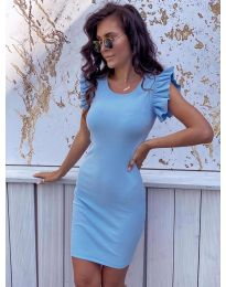 Dresses - kod 199 - light blue