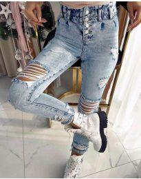 Jeans - kod 4211 - 1 - sky blue