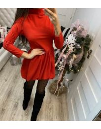 Dresses - kod 658 - red
