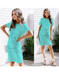 Dresses - kod 835 - light blue