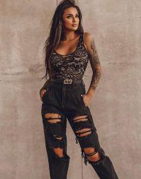 Jeans - kod 7914  - 1 - black