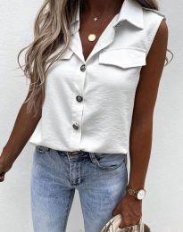 Shirts - kod 6598 - white