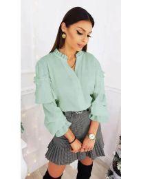 Shirts - kod 683 - turquoise