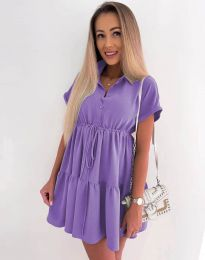 Dresses - kod 8889 - purple