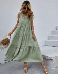 Dresses - kod 8149 - green