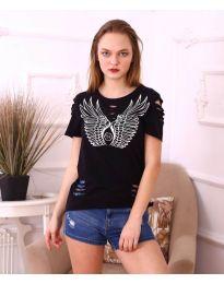 T-shirts - kod 3567 - black