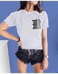 T-shirts - kod 437 - white