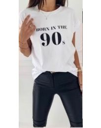 T-shirts - kod 947 - 1 - white