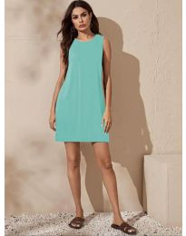 Dresses - kod 3075 - green