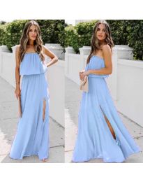 Dresses - kod 061 - sky blue