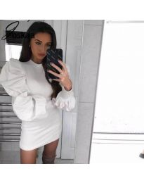 Dresses - kod 3561 - white