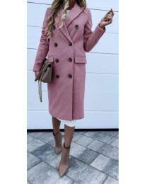 Woman coat - kod 722 - pink