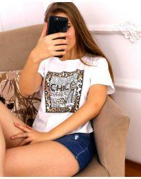 T-shirts - kod 3543 - white