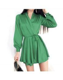 Dresses - kod 8754 - green