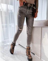 Jeans - kod 7484 - 1 - gray