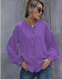 Shirts - kod 1648 - 2 - purple