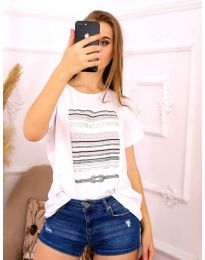 T-shirts - kod 3514 - white