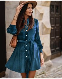 Dresses - kod 3999 - sky blue