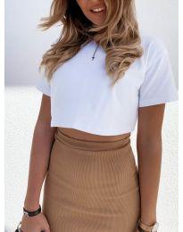 T-shirts - kod 608 - white