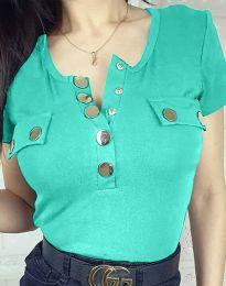 Blouses - kod 3748 - turquoise