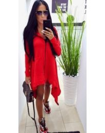 Dresses - kod 887 - red