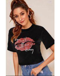 T-shirts - kod 914 - black