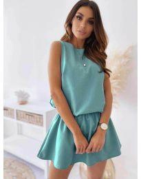 Dresses - kod 477 - turquoise