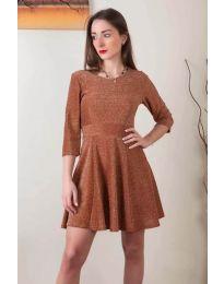 Dresses - kod 923 - brown