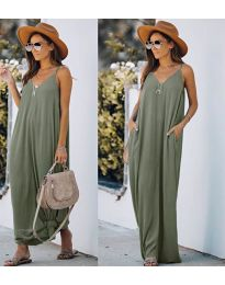 Dresses - kod 0209 - army green