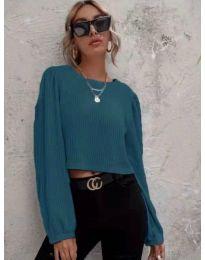 Blouses - kod 5932 - turquoise