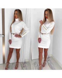 Dresses - kod 1788 - white