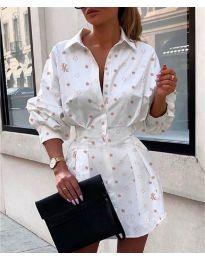 Dresses - kod 239 - white