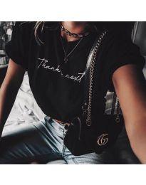 T-shirts - kod 3582 - black