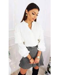 Shirts - kod 683 - white