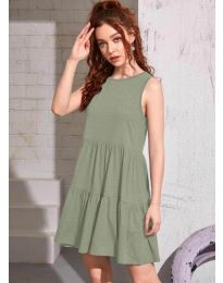 Dresses - kod 4471 - army green