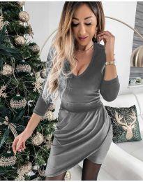 Dresses - kod 2129 - gray