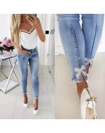 Jeans - kod 2854 - 3 - light blue